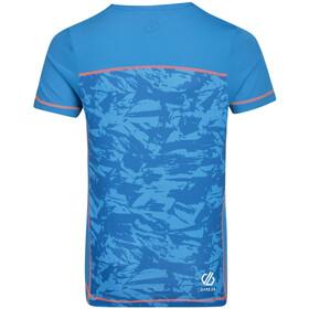 Dare 2b Buoyant Camiseta Niños, petrol blue/shred print